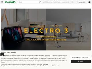 Captura de pantalla para elcorteingles.es