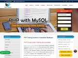Placement Oriented PHP Training in Hyderabad