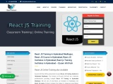 React JS Training Institute in Hyderabad
