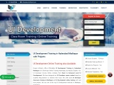 UI Development Training in Hyderabad with Projects