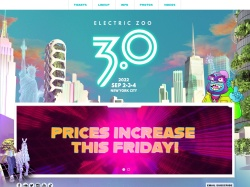 Electriczoofestival coupon codes March 2018