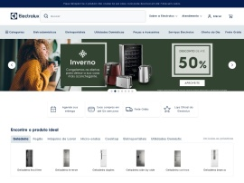 Online store Electrolux