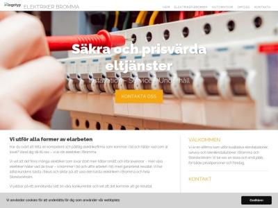 www.elektrikerbromma.nu