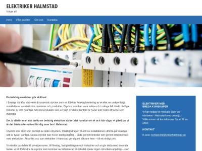 www.elektrikerhalmstad.se