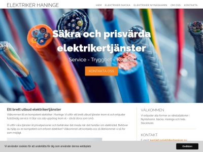 www.elektrikerhaninge.nu