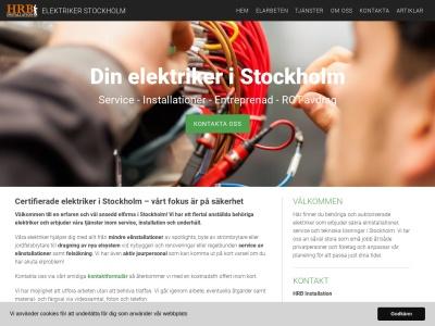 www.elektrikerstockholm.biz