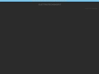 screenshot elettrotechshop.it