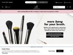 e.l.f. cosmetics screenshot