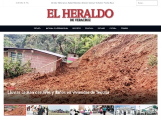 Captura de pantalla para elheraldodeveracruz.com.mx