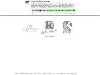 Screenshot del sito ellegidesign.it