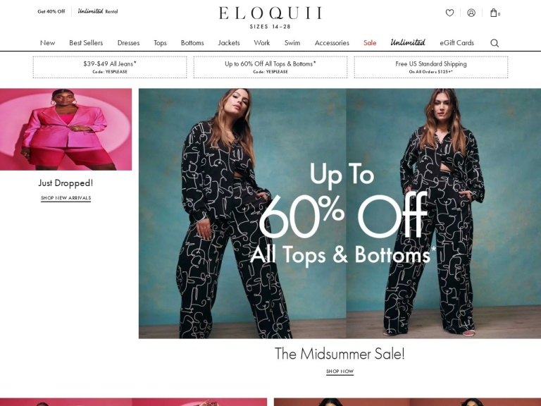 Eloquii-ELOQUII-Select Pants and Denim $29 with code NEWONSALE