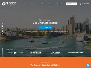 Screenshot for elsner.com.au