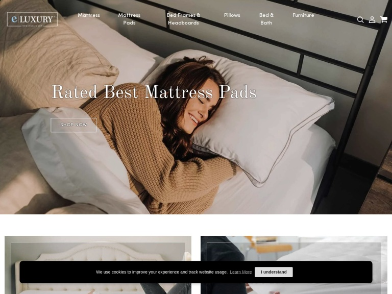 eLuxury Supply-eLuxury Supply- Save 20% on Bamboo Mattress Pads with Code SBBAMBOO! This Weekend ONLY