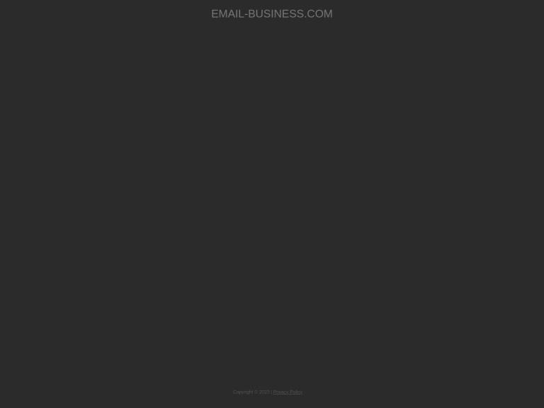 Email Business Software screenshot