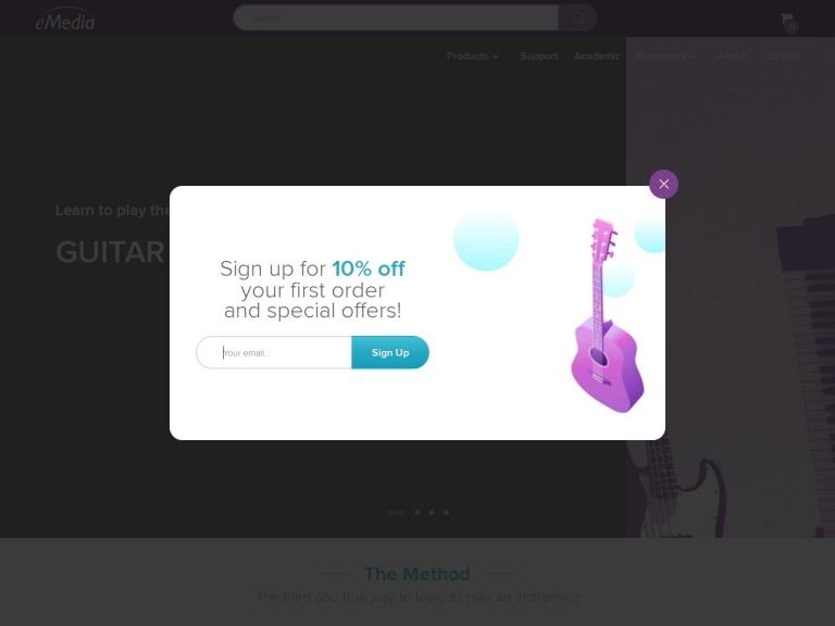 eMedia Music screenshot