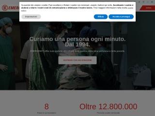 Screenshot del sito emergency.it