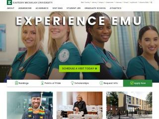 Screenshot for emich.edu