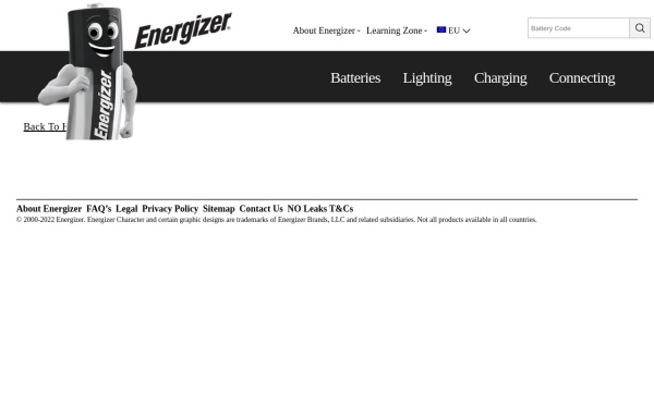 Vorschau von www.energizer.eu, Energis Communications Ltd.