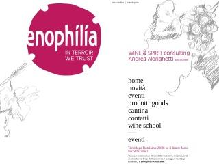 screenshot enophilia.it