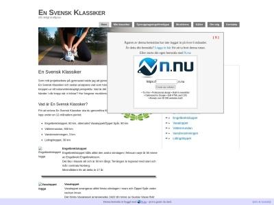 www.ensvenskklassiker.n.nu