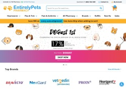 EntirelyPets Pharmacy LLC Coupons September 2018