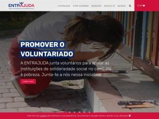Screenshot do site entrajuda.pt