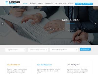 Site dédié à la cession et reprise d'entreprise