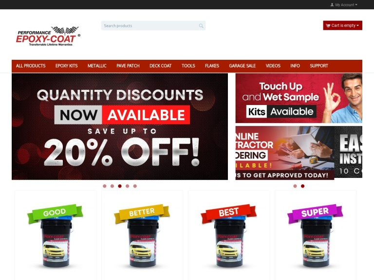 Epoxy-Coat Inc Coupon Codes & Promo codes