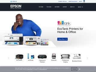 Screenshot for epson.com