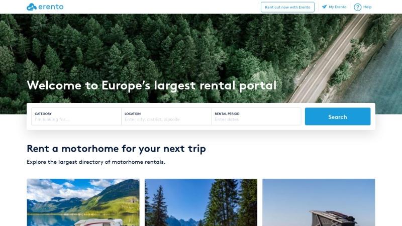 www.erento.com Vorschau, Erento GmbH