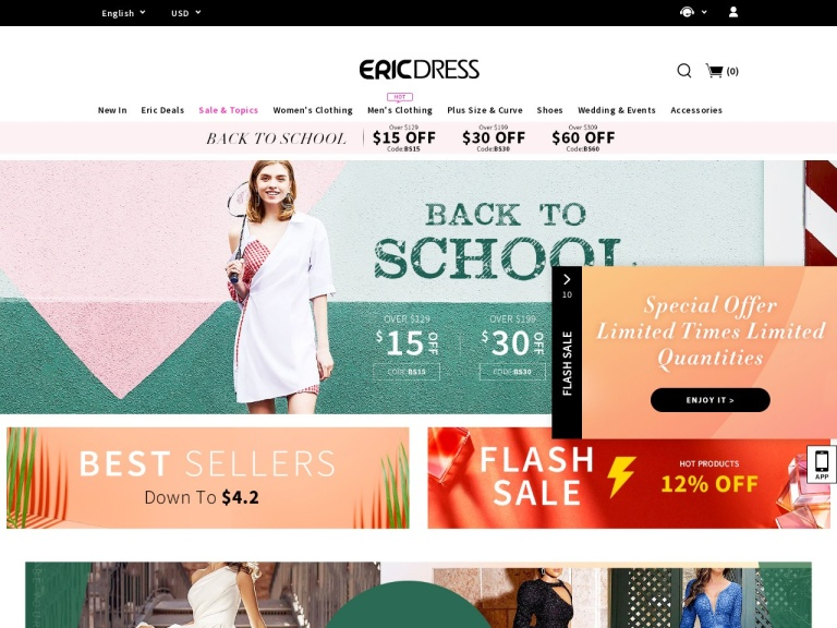 Ericdress.com Coupon Codes