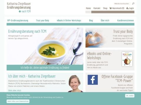 Ernährungsberatung  nach TCM, Mag. Katharina Ziegelbauer