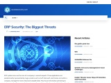ERP Security: The Biggest Threats