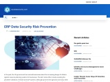 ERP Data Security Risk Prevention