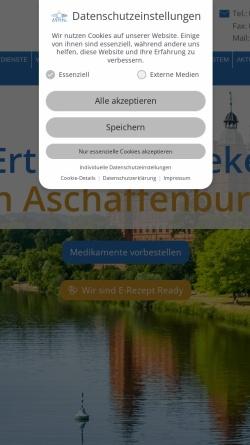 Vorschau der mobilen Webseite www.erthal-apotheke.de, Erthal-Apotheke