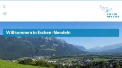 www.eschen.li Vorschau, Gemeinde Eschen
