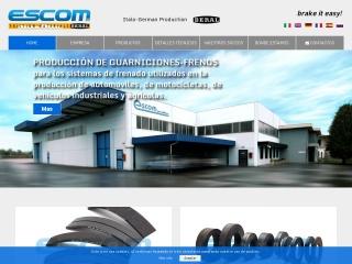 Captura de pantalla para escombrakes.es