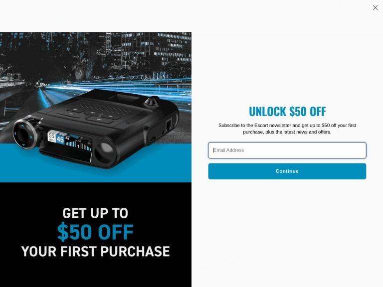 EscortRadar.com screenshot