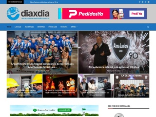 Captura de pantalla para esperanzadiaxdia.com.ar