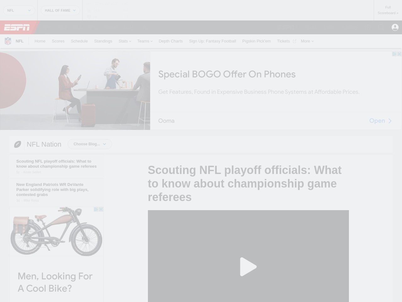 Scouting NFL playoff officials: What to know about championship game referees