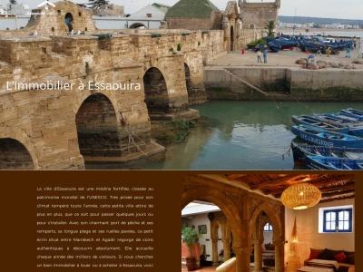 Immobilier Essaouira - Riads à louer