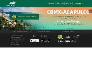 Captura de pantalla para estrelladeoro.com.mx