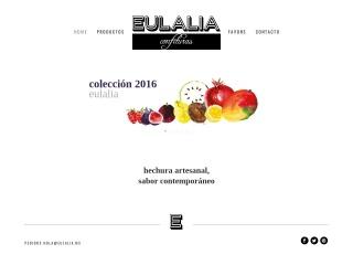 Captura de pantalla para eulalia.mx