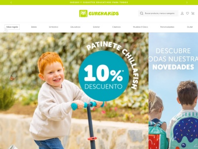 Eurekakids, magasin de jouets éducatifs