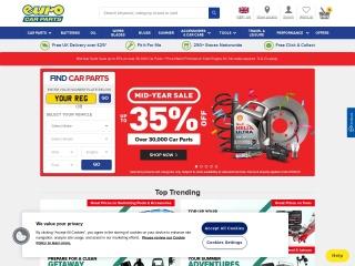 Screenshot for eurocarparts.com