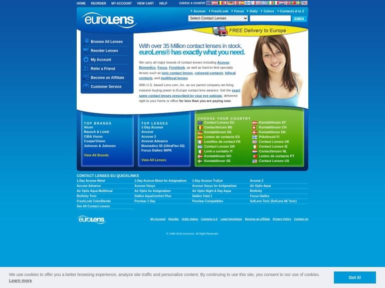 Eurolens (europe) screenshot