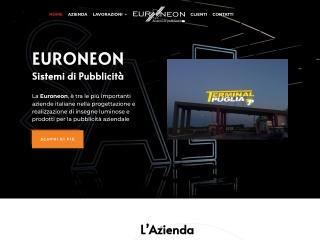 screenshot euroneon.it
