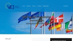 www.europa-journalisten.de Vorschau, Vereinigung europäischer Journalisten e.V.