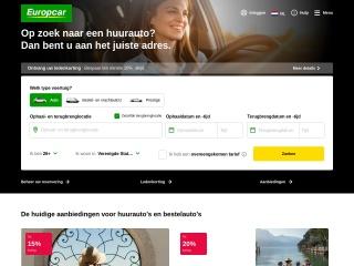 Screenshot voor europcar.nl