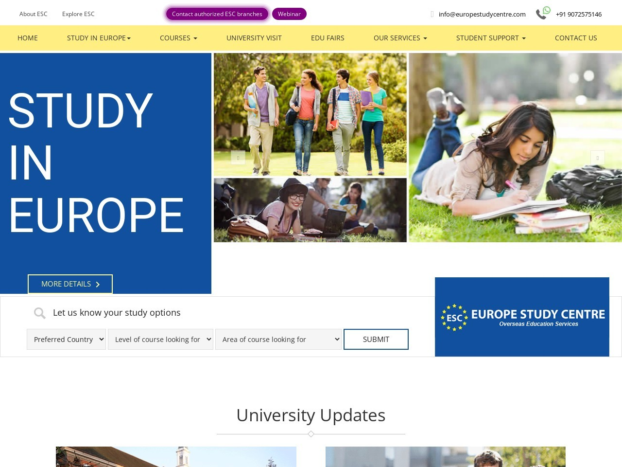 Study MBA In Europe